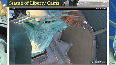 Statue of Liberty Time-Lapse