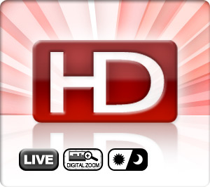 Live HD Video Stream - Digital Zoom - Day/Night Function